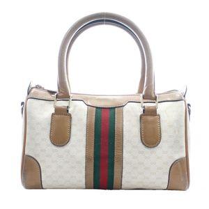 6712c94b1f7f0a Vintage Gucci Signature Top Handle Bag